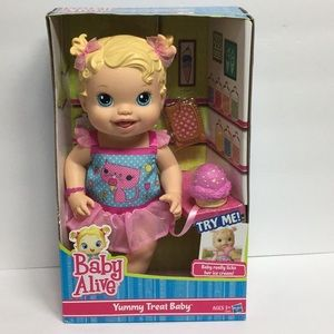 Baby Alive Yummy Treat Doll with Ice Cream Cone